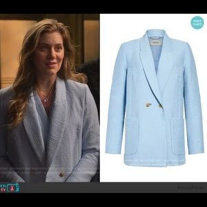 RACHEL COMEY New Amboy Cotton Blend Blazer